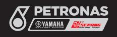 Logo Petronas Nero